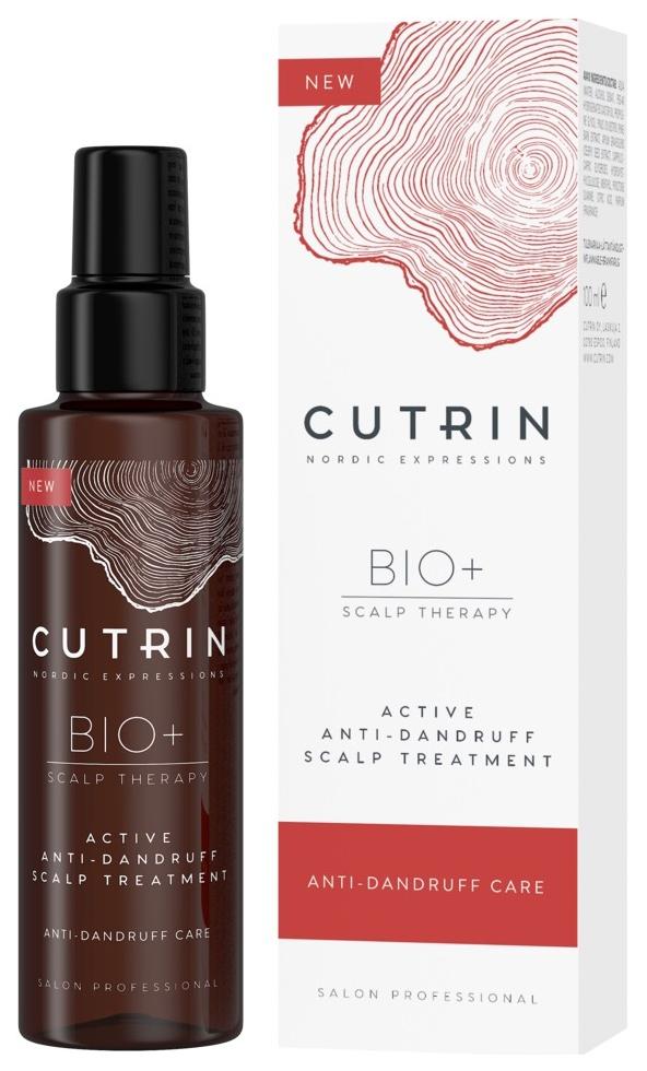 Сыворотка Cutrin Bio+ Active Anti Dandruff Scalp