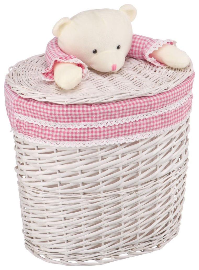 Корзина для хранения игрушек Natural House Медвежонок