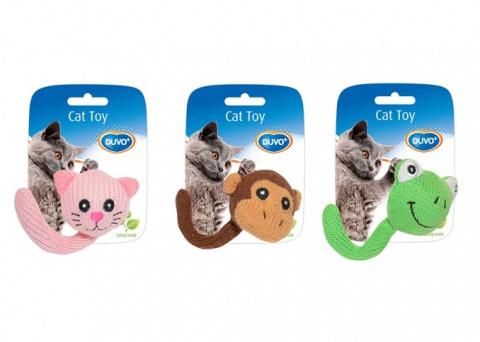 Вязанная игрушка для кошек Duvo+ с кошачьей мятой