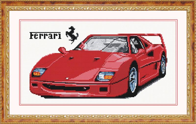 Мозаичная картина Ferrari ZKT003