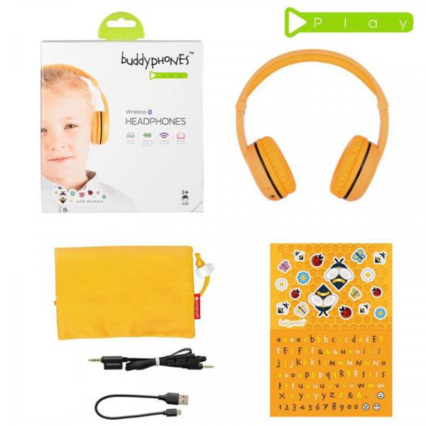 Наушники беспроводные детские BuddyPhones Play SAFARI BT-BP-Play-SAFARI фото