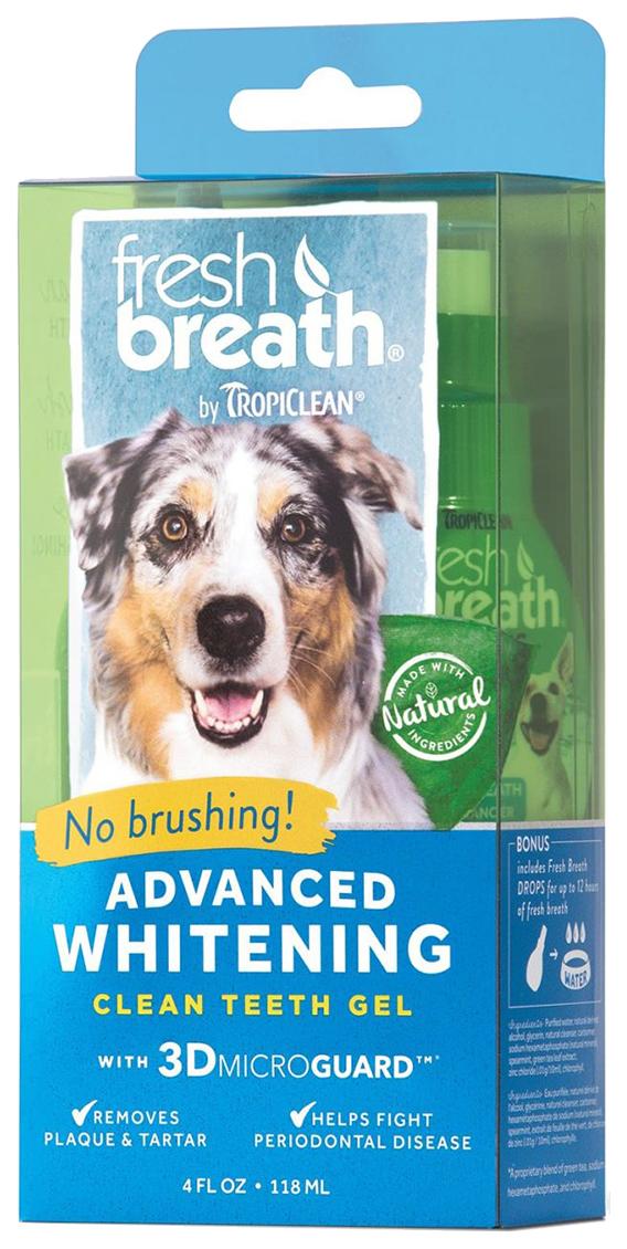 Зубной гель для собак Tropiclean Свежее дыхание 118 мл