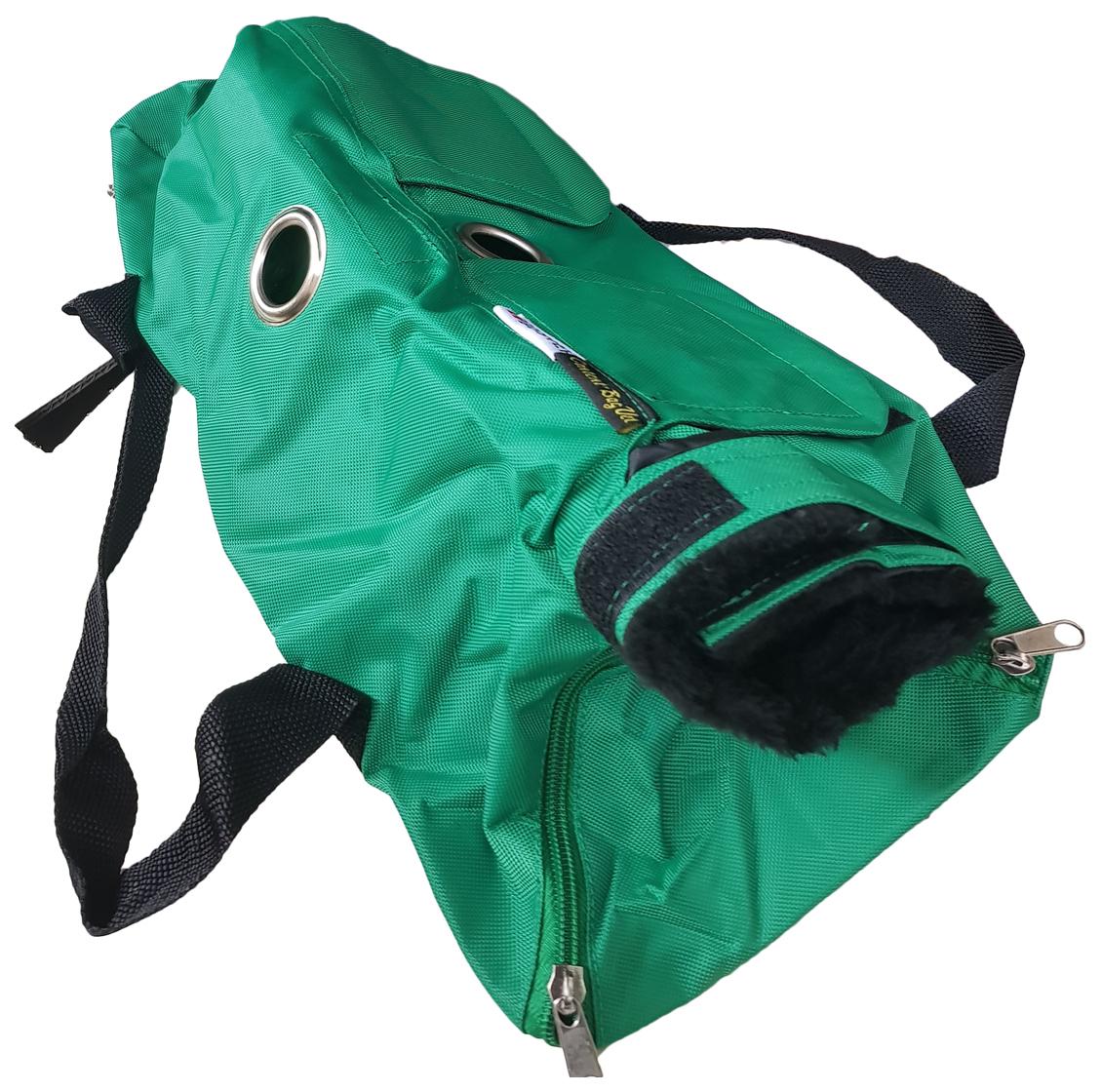 Сумка для обследования животных Kruuse Buster Vet Examination Bag зеленая L 4-6кг.
