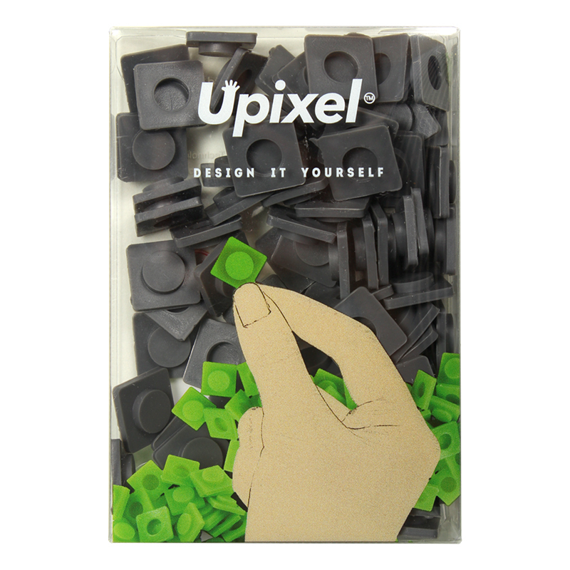 Комплект пикселей Upixel большие WY-P001 Темно-серый фото