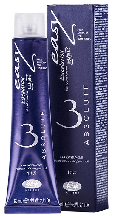 Краска для волос Lisap Milano Escalation Easy Absolute 3 77/76 Блондин бежево-медный