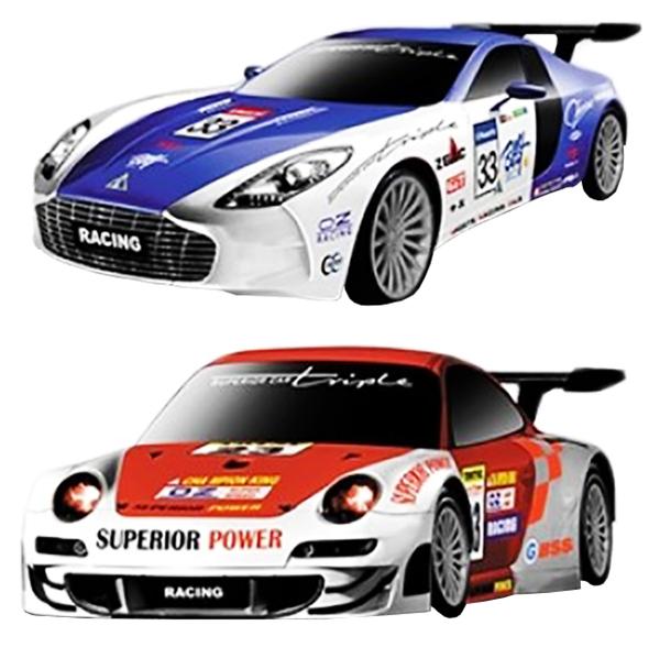Радиоуправляемая машинка-конструктор MYX  Mclaren, Ferrari, Aston Martin и Porsche