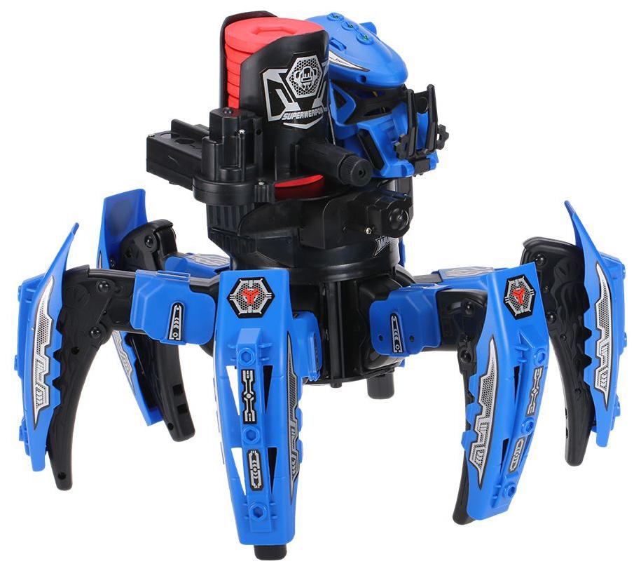 Купить Радиоуправляемый робот-паук Wow Stuff Space Warrior с дисками и лазерным прицелом 2.4G, Радиоуправляемые роботы