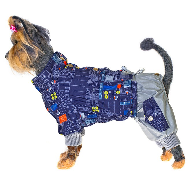 Комбинезон для собак HAPPY PUPPY Техно-4 32см.