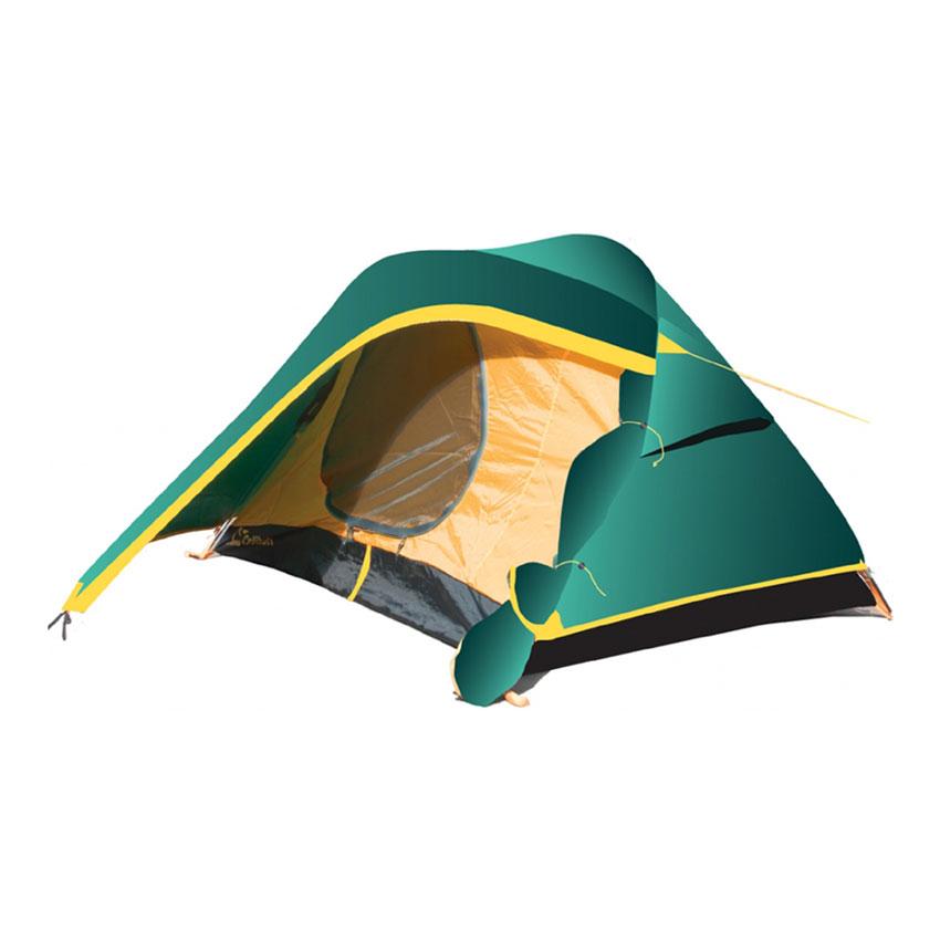 Палатка Tramp Colibri 2 V2 зеленый Цвет зеленый
