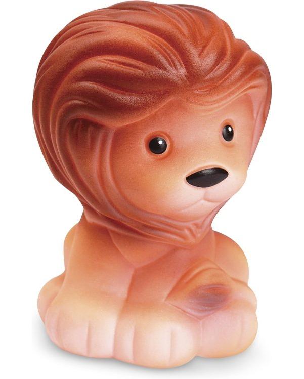 Купить ОГОНЕК Резиновая игрушка Лев С-430о, Огонек, Игрушки для купания малыша