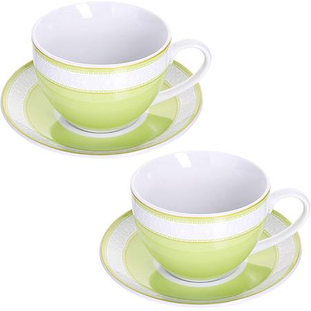 Чайный сервиз LORAINE розовая 28640 2 пер.