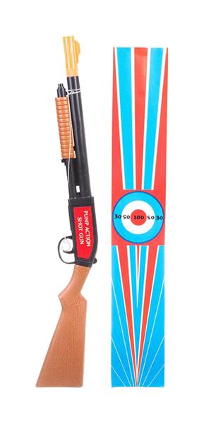 Купить Огнестрельное игрушечное оружие Помповое ружье с пробкой 328, Gratwest, Стрелковое игрушечное оружие