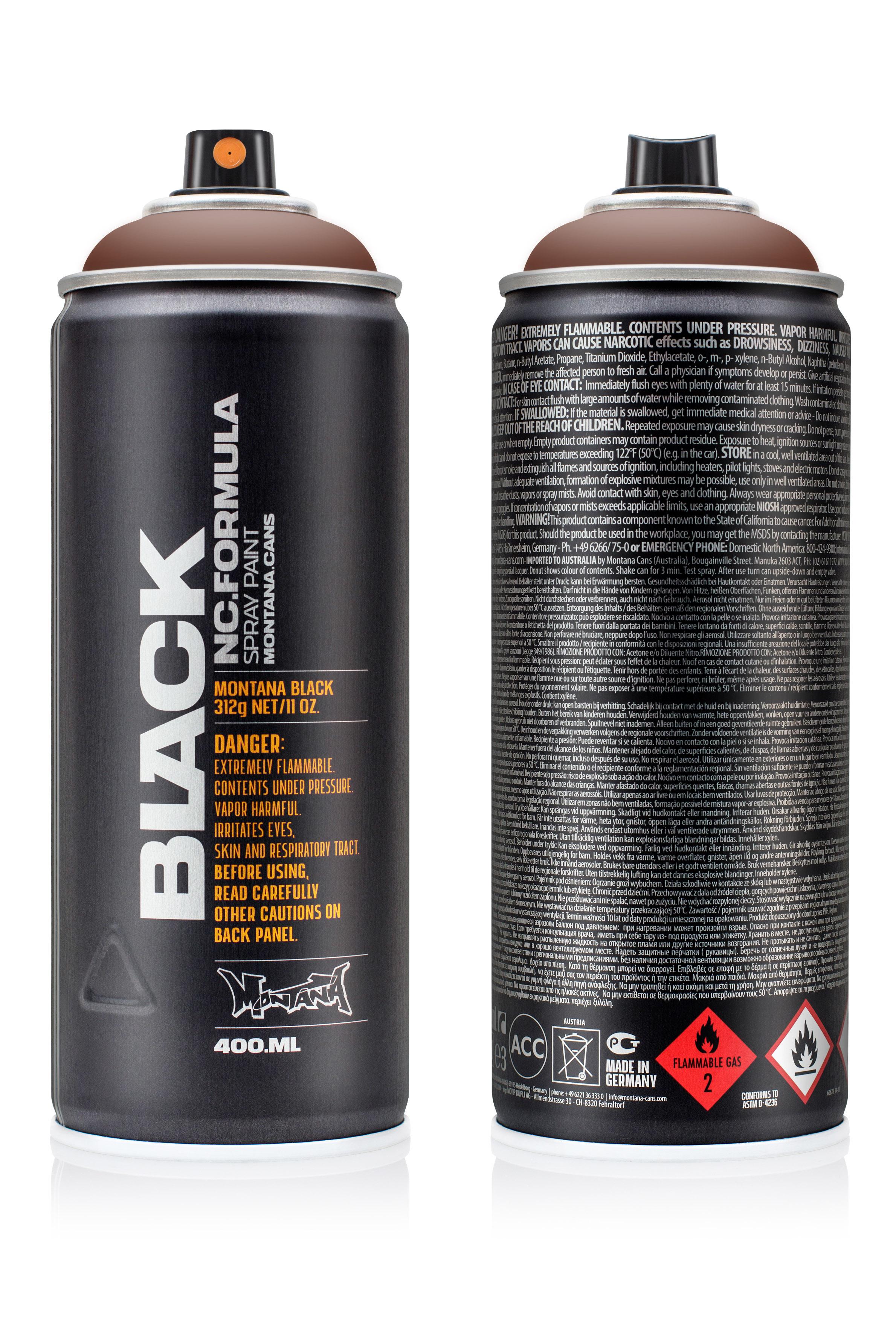 Аэрозольная краска Montana Black Pecan nut 400 мл