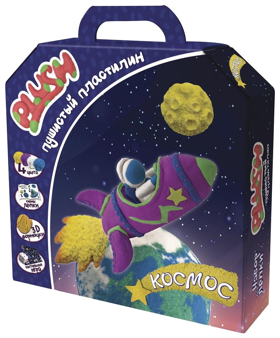 Набор для лепки из пластилина Волшебный мир Пластилин Plush Космос PL02201809