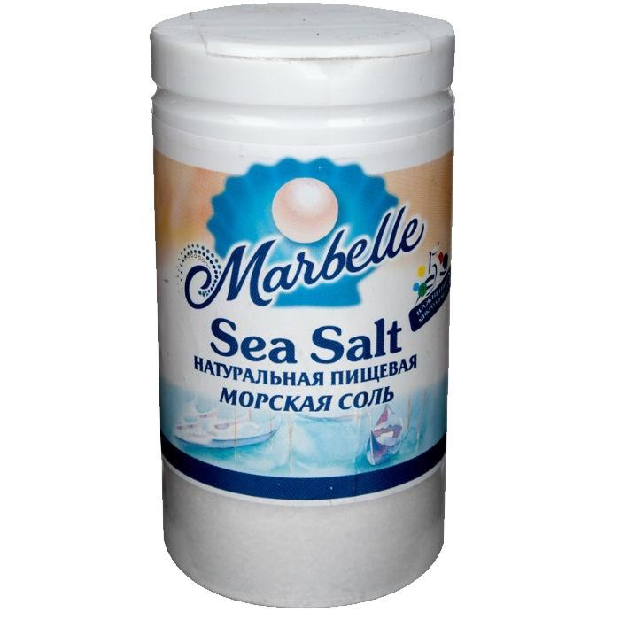 Соль морская Marbelle пищевая мелкая 80 г