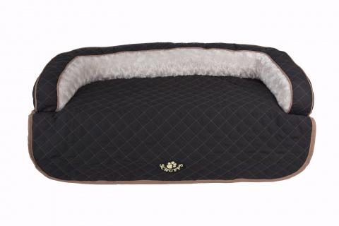 Лежак на диван Scruffs Wilton 70 х 65 х 12 черный
