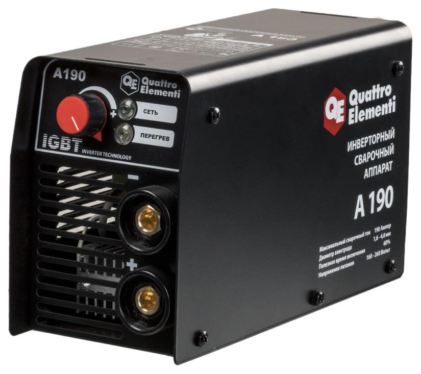 сварочный аппарат инверторный Quattro Elementi A 160
