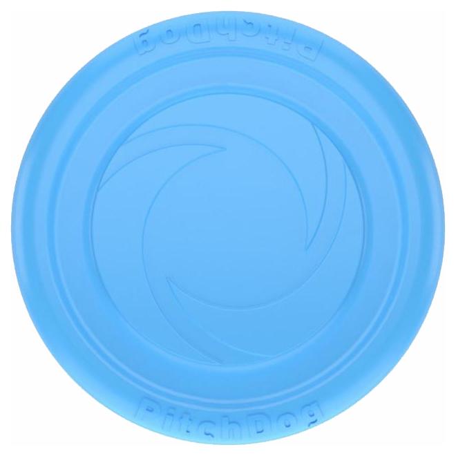 Апорт для собак PitchDog Летающая тарелка, голубая,