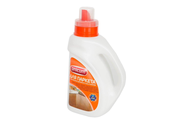Универсальное чистящее средство для мытья полов Unicum для паркета 1 л