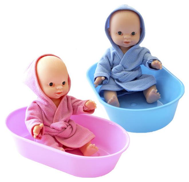 Игровой набор Плэйдорадо «Пупс в ванночке» 22 см 22020 фото