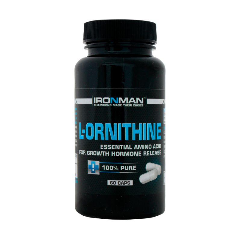 Ironman L Ornithine 60 капсул без вкуса
