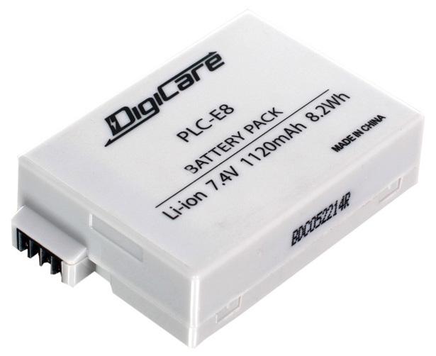 Аккумулятор для цифрового фотоаппарата DigiCare PLC-E8  - купить со скидкой