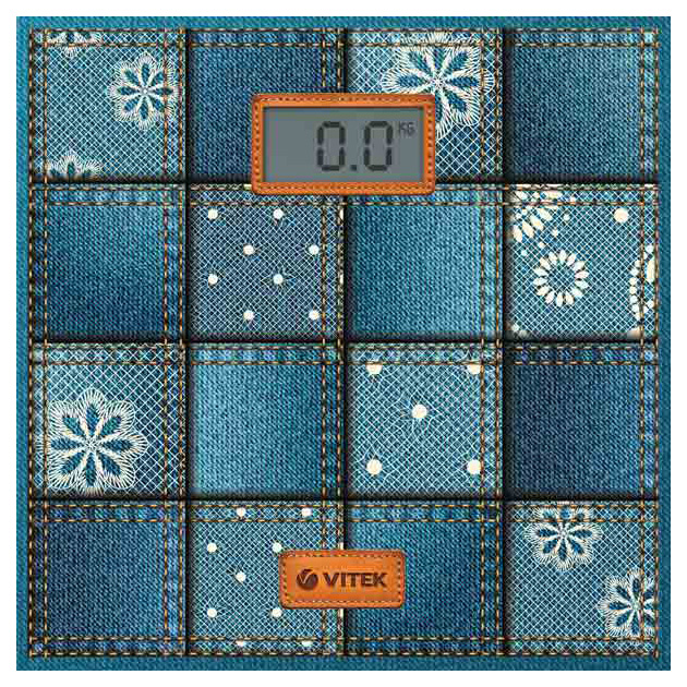 Весы напольные Vitek VT-1971 B Blue