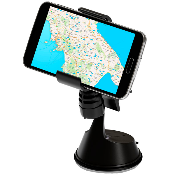Автомобильный держатель для мобильных устройств InterStep OHC-01 Black OHC-01 Black (IS-HD-OHC0001BK-000B201)