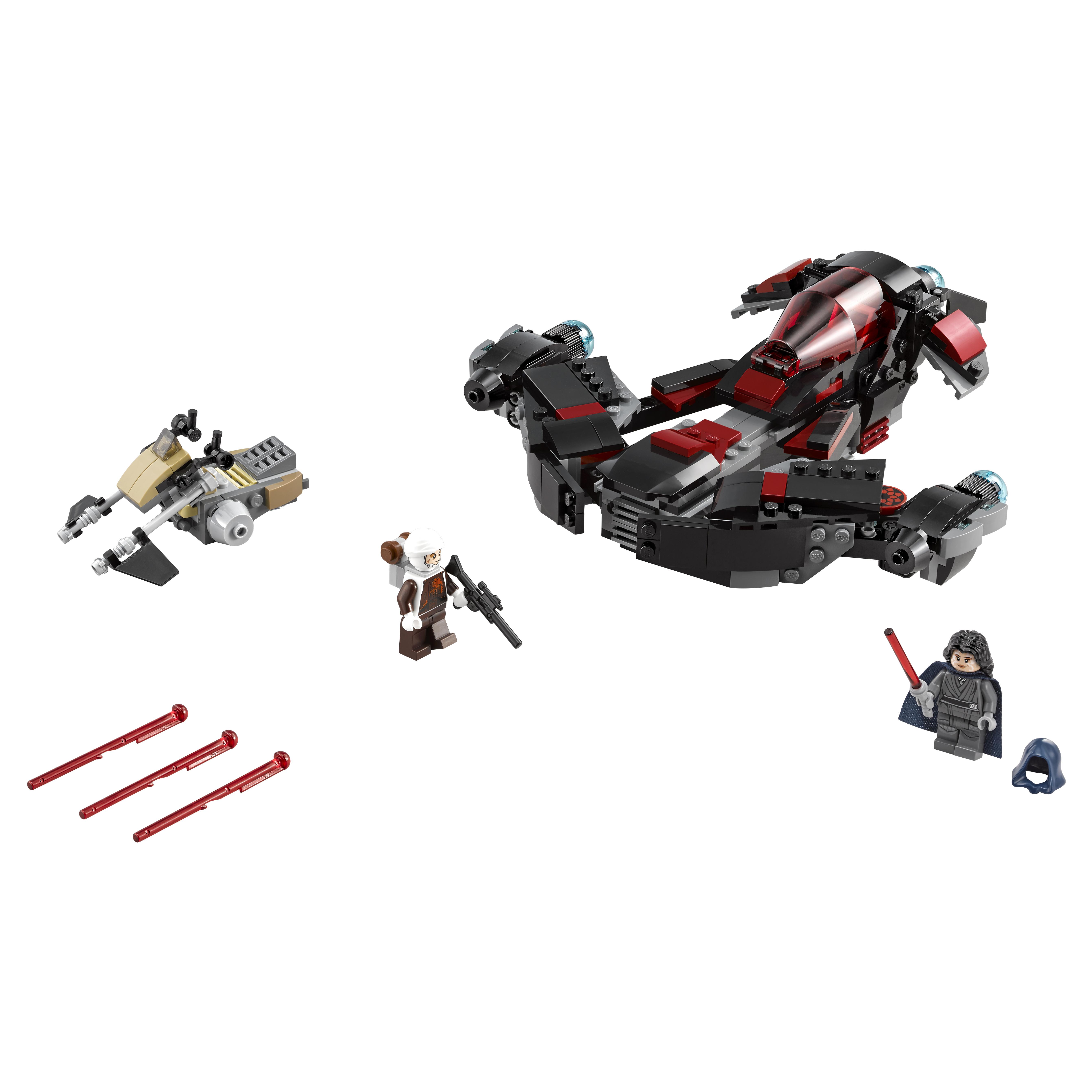 Конструктор LEGO Star Wars Истребитель Затмения (75145) конструктор lego star wars истребитель затмения 75145