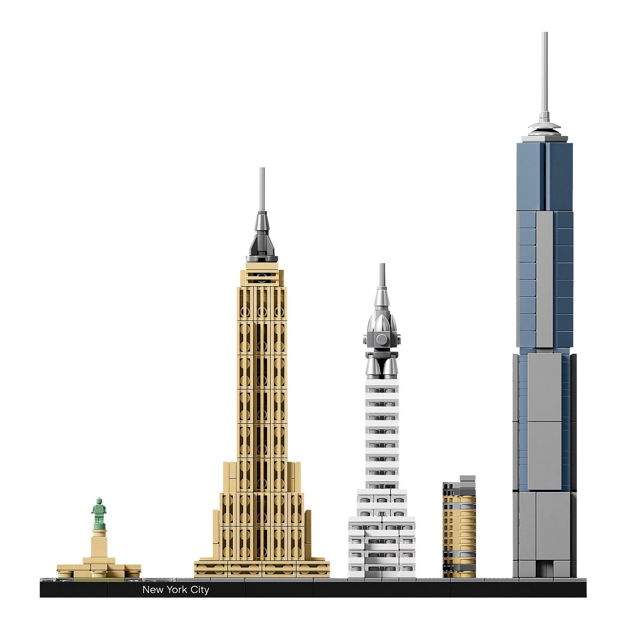 Купить Конструктор lego architecture нью-йорк 21028, Конструктор LEGO Architecture Нью-Йорк (21028),
