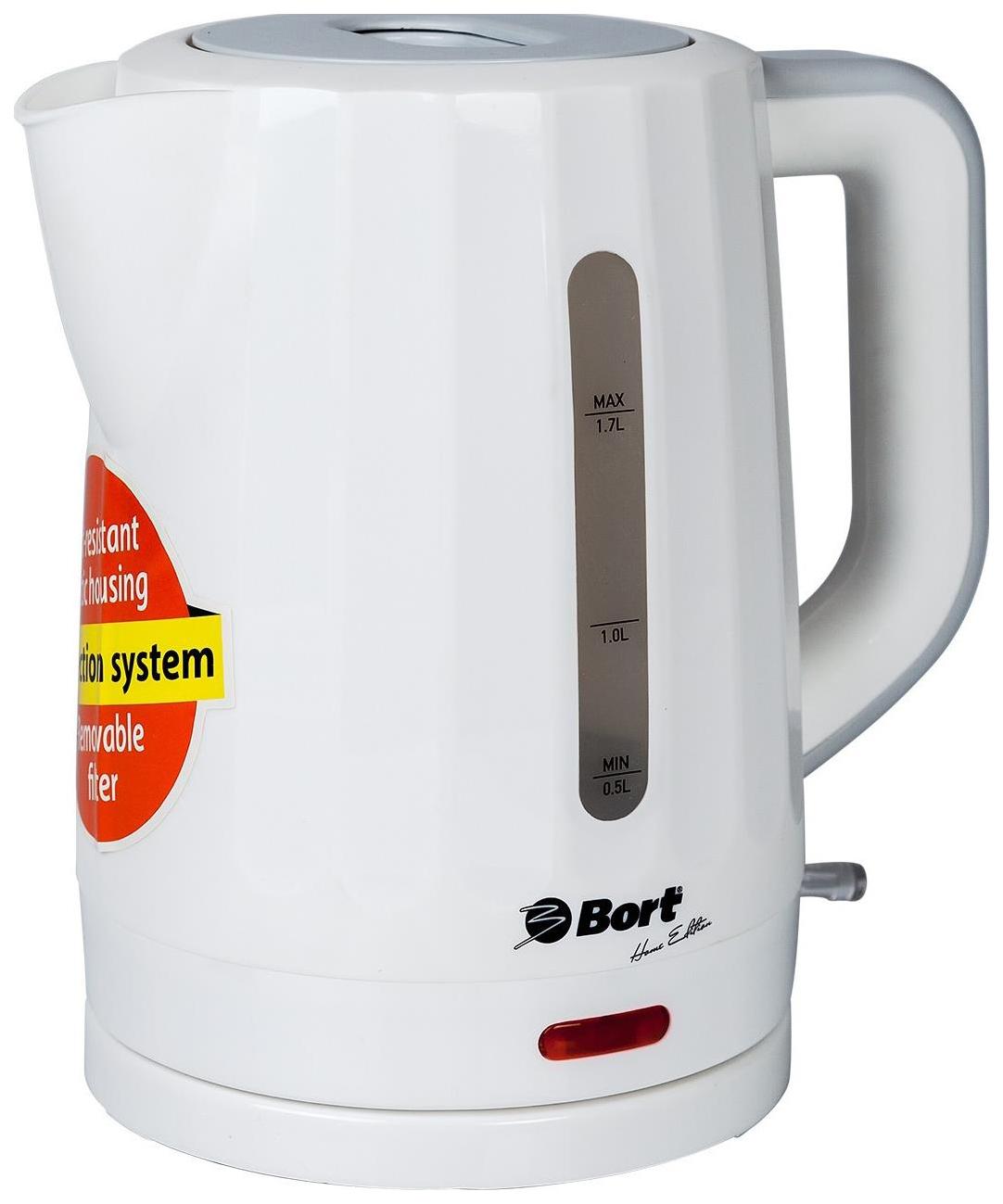 Чайник электрический Bort BWK 2017P White