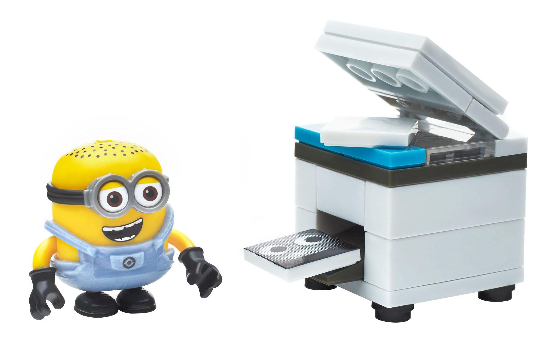 Купить Игровой набор Mega Bloks® Миньоны весёлые мини игровые наборы DMV20 DKY82, Mattel, Игровые наборы