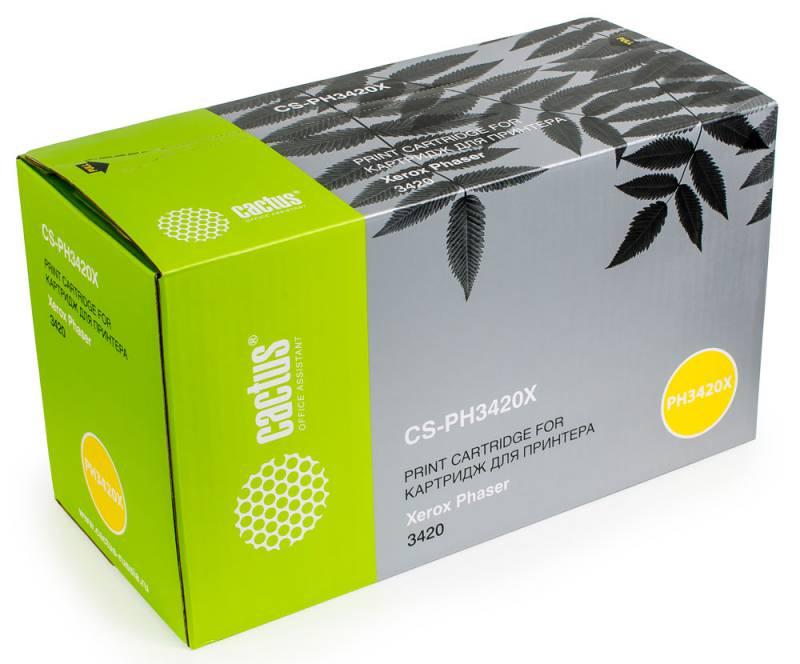 Картридж для лазерного принтера Cactus CS-PH3420X черный фото