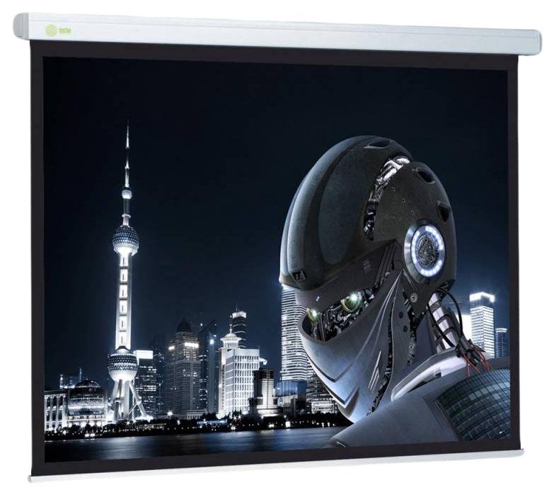 Экран для видеопроектора Cactus Wallscreen CS-PSW-128x170 Белый фото
