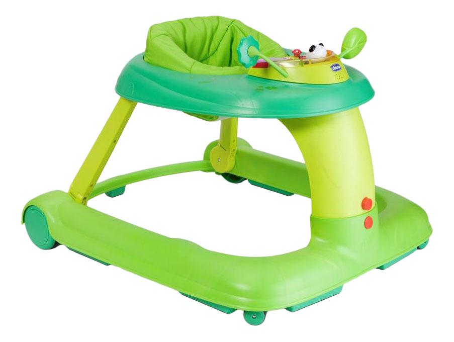 Купить Центр развивающий Chicco Ходунки 123, зеленый цвет 7941551, Ходунки детские