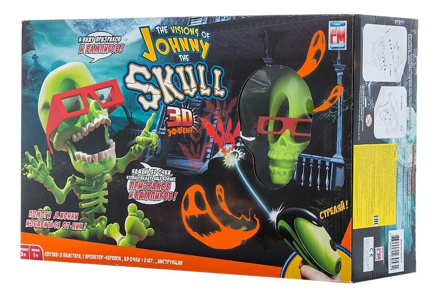 Проекционный тир 3D Johnny the Skull с 2 Бластерами фото