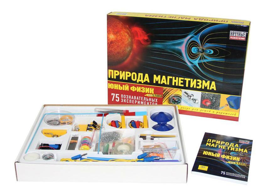 Набор для исследования Научные развлечения Юный физик. Природа магнетизма фото