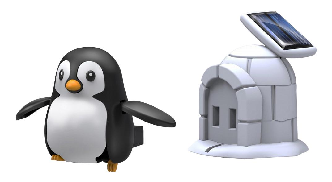 Конструктор электронный Bradex Пингвин