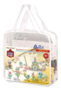 Купить Сумочка, Конструктор пластиковый Artec Educational 54 Piece Pastel Pouc, Знаток, Конструкторы пластмассовые