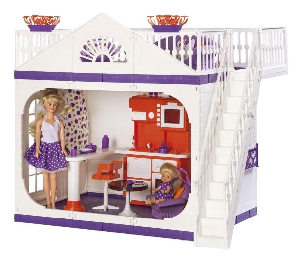 Кукольный дом Дачный Дом конфетти