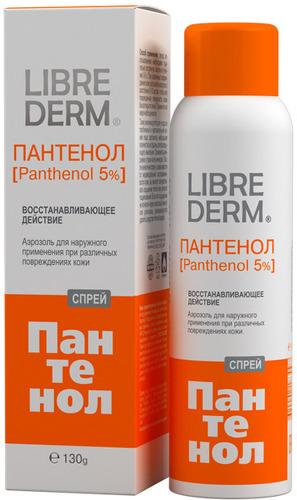 Спрей LIBREDERM Panthenol 5%, 130 г