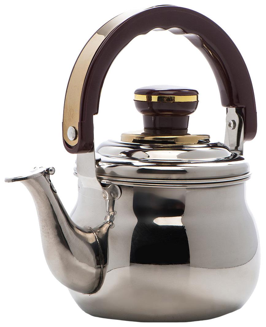 Заварочный чайник Mayer#and#Boch 8881 Серебристый, коричневый, золотой