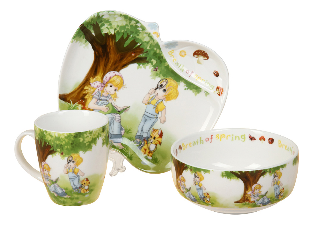 Купить Набор детской посуды 8782, Набор детской посуды, Rosenberg, Наборы детской посуды