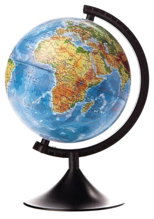 Купить Глобус Земли Globen Классик К012100007 физический 210 мм, Глобусы