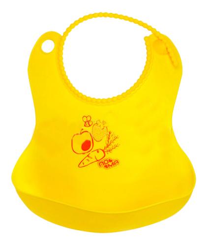 Купить Нагрудник детский ПОМА Гибкий с карманом, Пома, Слюнявчики