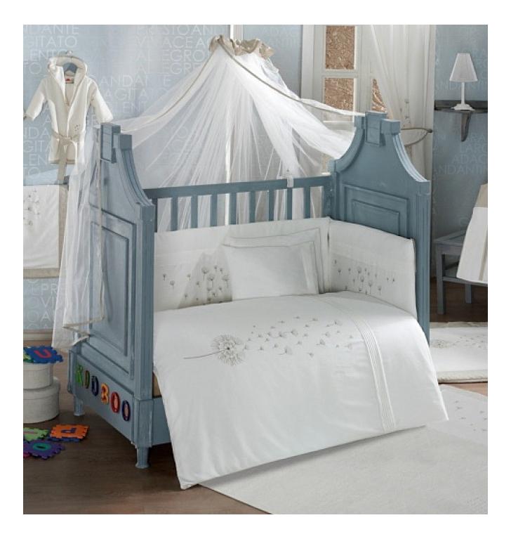 Балдахин для детской кроватки Kidboo Blossom Saten Vanilla