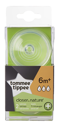 Соска tommee tippee Close To Nature быстрый поток фото