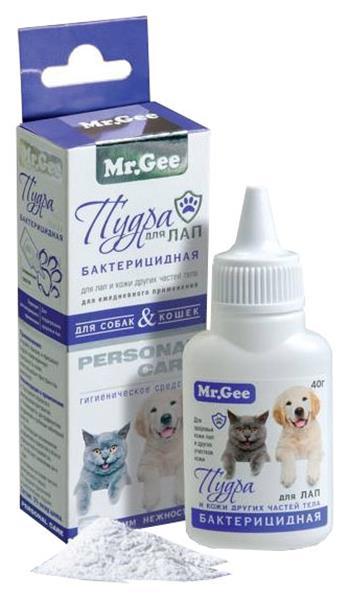 Пудра для домашних животных Mr.Gee для