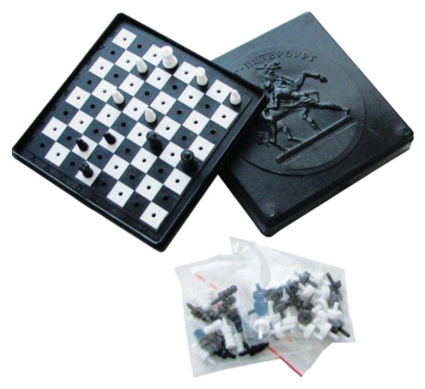 Игровой набор Плэйдорадо Шахматы и шашки 40005.