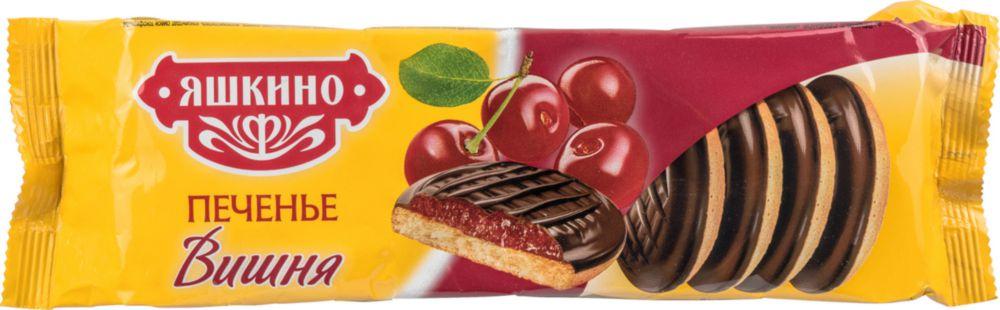 Печенье Яшкино вишня 137 г фото